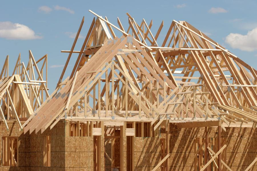 For February, construction of single-family homes rose 7.2 percent to an annual rate of 822,000 units.