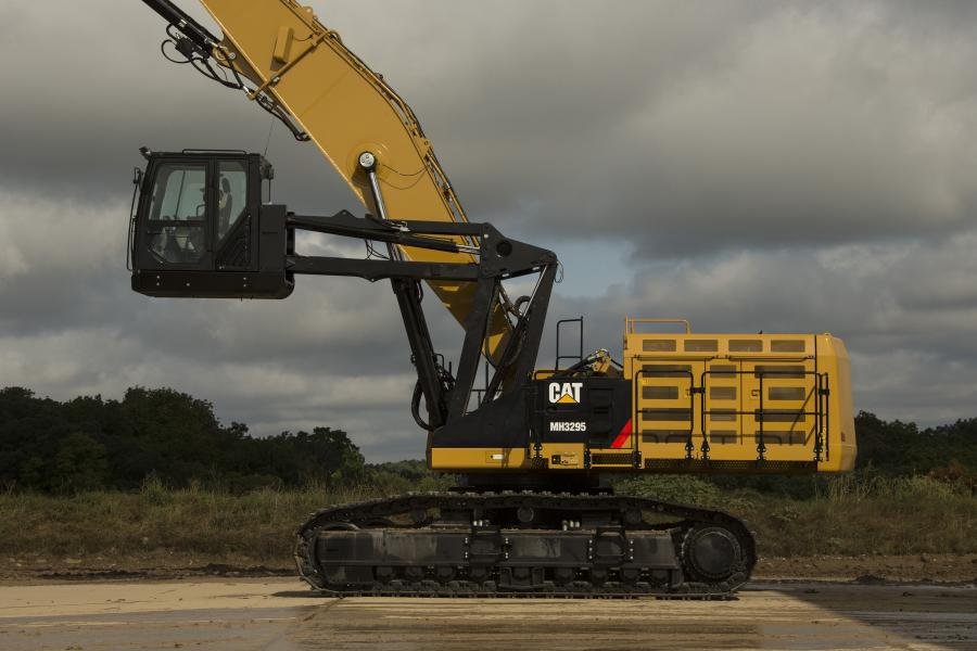 Designed specifically for bulk material handling and scrap recycling applications, the new Cat MH3295 Material Handler is designed for high production.