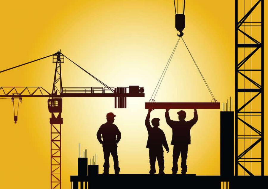 The state lost five percent of their construction jobs in January, which is the highest of any state in the county. But across the state the report shows there's been less projects.