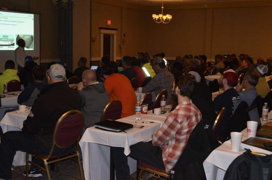 Paving contractors and municipalities from across eastern and central New York gathered for an informational seminar on paving and compaction.