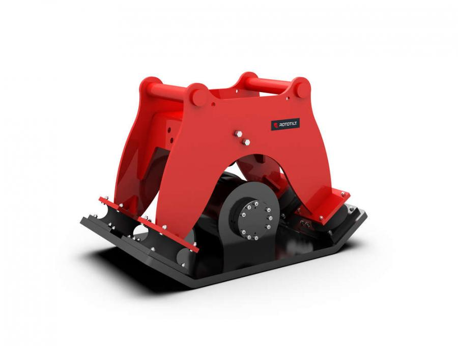 Available in 3 models covering excavators from 3 to 30 tonne, Rototilt now makes compacting safer, quicker, and easier.