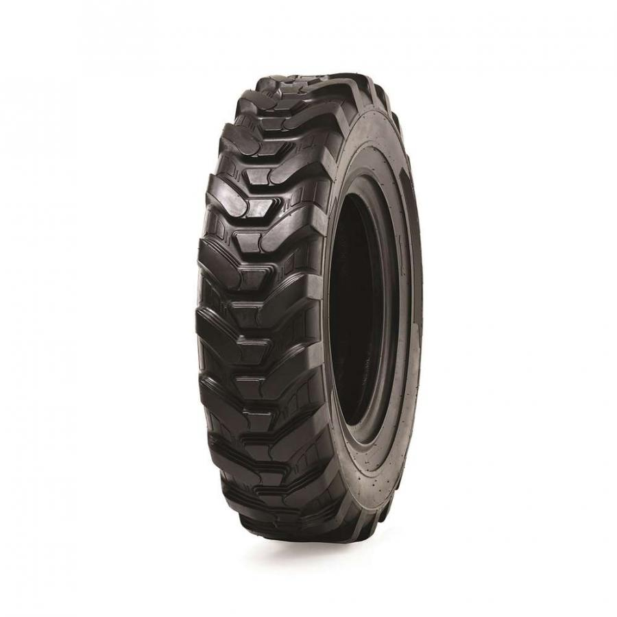 The directional tread pattern of the TLH 732 tire focuses on providing aggressive traction in soft soils.