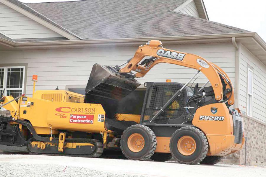 Randy Larson, president, Purpose Contracting, replaced aging and inefficient skid steers with two new vertical-lift models —   SV280s from Case Construction Equipment —    to serve as their primary workhorses.