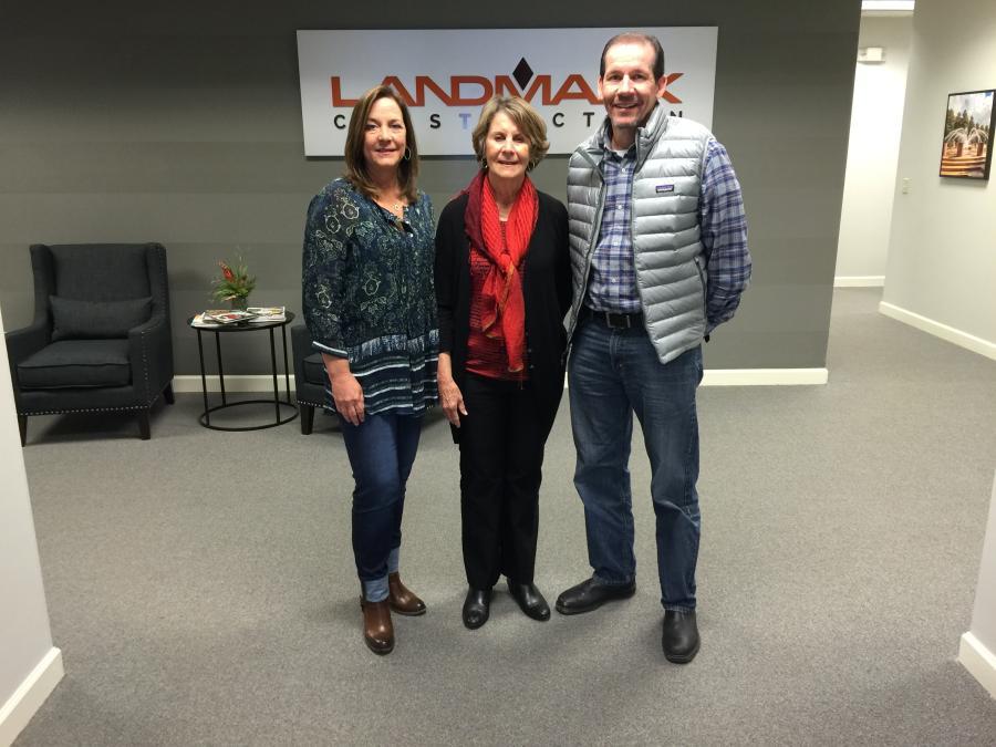 (L-R) are Cindy, Ann and Rick Mixson.