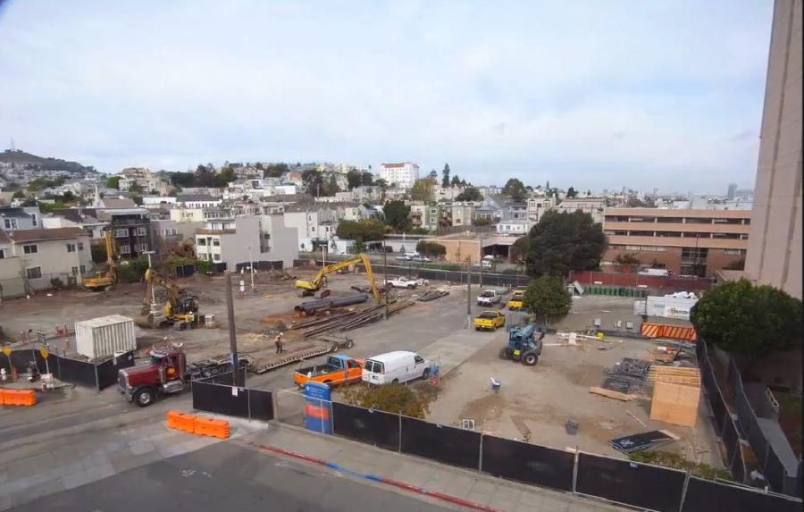 A $329 million project to replace San Francisco's St. Luke's Hospital with a modern, better-equipped facility is under way.