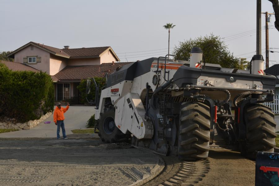 "Full Depth Reclamation (FDR) coupled with soil stabilization is rapidly becoming the norm in repaving jobs, and no one typifies the move to the ""green"" processes more than Precision Cold Planing of Yucaipa, Calif."