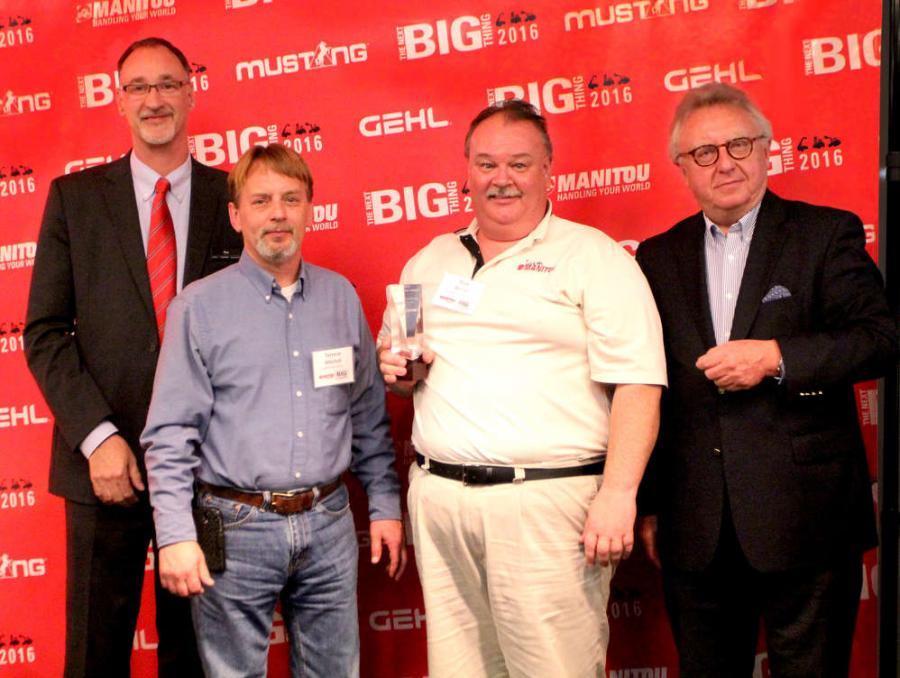 Dan Miller, President & CEO of Manitou Americas, and François Piffard, Executive VP of 