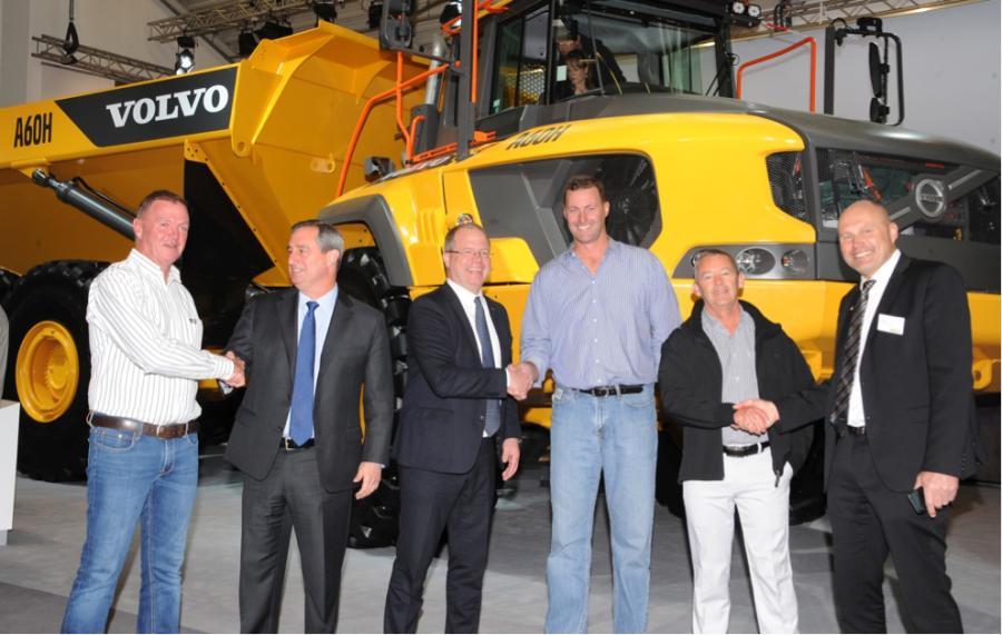 From left: Carl Zietsman, Martin Weissburg, Martin Lundstedt, Stanley van der Burgh, Roger O'Callaghan, Tomas Kuta.