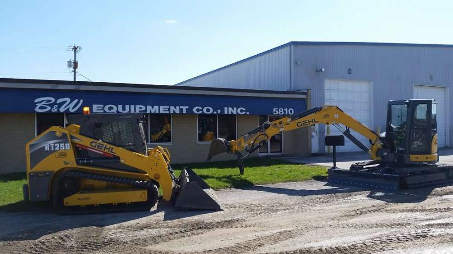 B & W Equipment Co provides expert sales, service and parts support to Fort Wayne, Indiana and the surrounding area for Gehl skid loaders, compact track loaders, and compact excavators.