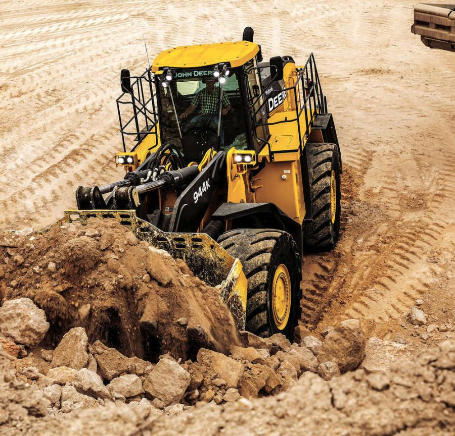 PowerTech EPA Interim Tier 4 engine (IT4), the 944K Hybrid Wheel Loader can provide significant fuel savings over 9-yard3 loaders with conventional drivetrains.