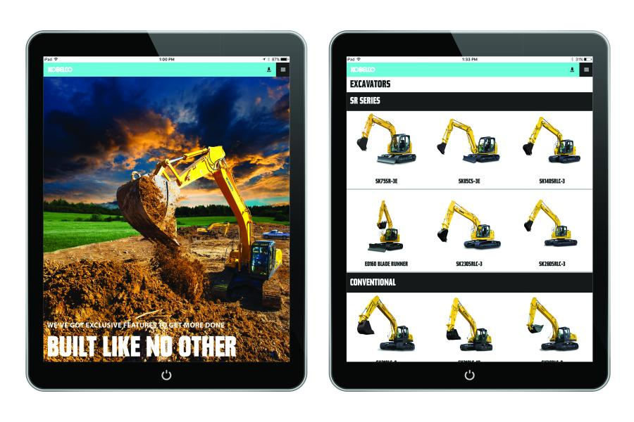 The app boasts a number of features designed to support KOBELCO dealers and customers in the North America and Latin America markets.