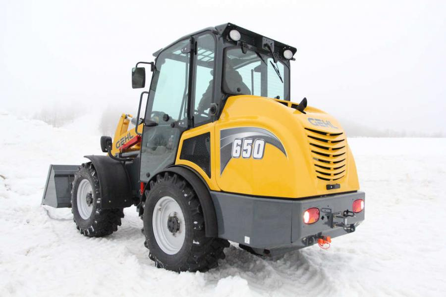 The Gehl 650 and 750 Articulated Loaders represent an expansion into the 60-80 horsepower size class.