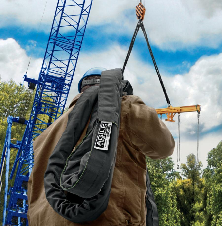 AGILE is a hybrid product that combines the advantages of both round and rope slings into one lightweight, easy-to-handle rigging system for heavy offshore payloads.