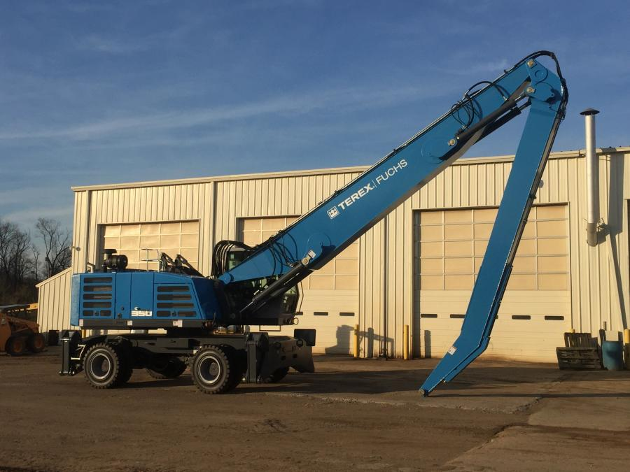 Terex Construction America announced Cowin Equipment Company Inc. as the authorized distributor of Terex Fuchs material handlers for the state of Alabama, northern Georgia and Florida's Panhandle.
