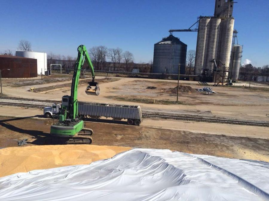 Moving 8 to 10 million bushels of material is a respectable year's work for any river dock. When the material you're moving is a seasonal field crop, the challenge moves up to another level.