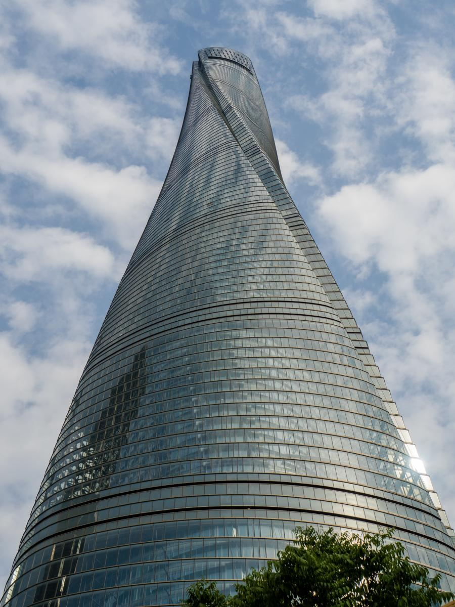 The opening ceremony for the Shanghai Tower's basement signify the upcoming completion of a building that has taken nearly eight years to complete.