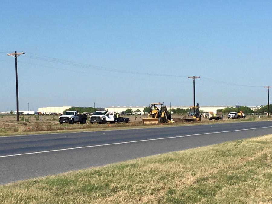Work has begun on the $200 million Texas state Highway 365 reconstruction project near Pharr, Texas, in the far southern part of the state.