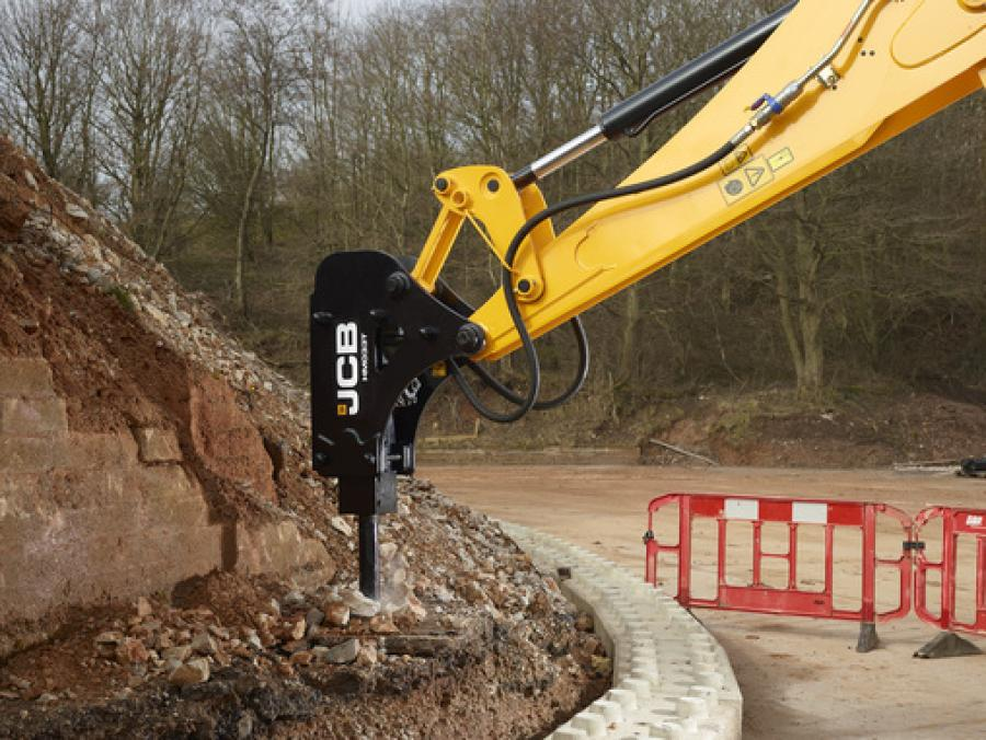 "JCB now offers double the number of hydraulic breakers designed to work with its range of excavators, backhoe loaders and compact equipment lines by launching its ""Contractor Hammer Range."