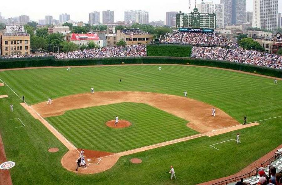 Baseball fans in Maine no longer have to travel to Chicago to get a glimpse of the famed Wrigley Field.