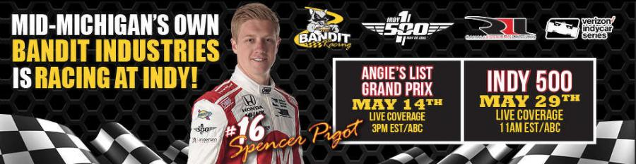 Bandit's sponsorship brings a taste of racing glory back to Bandit customers and the company's mid-Michigan community.