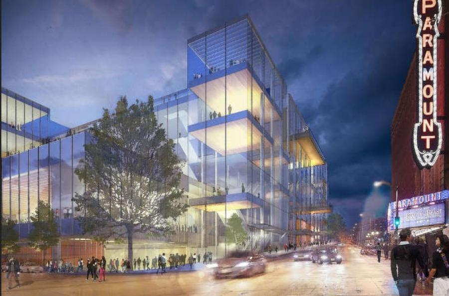 The relationship ended, however, when the convention center board voted in early March to fire the joint venture. Skanska-Hunt sued to stop the center from hiring a new builder.