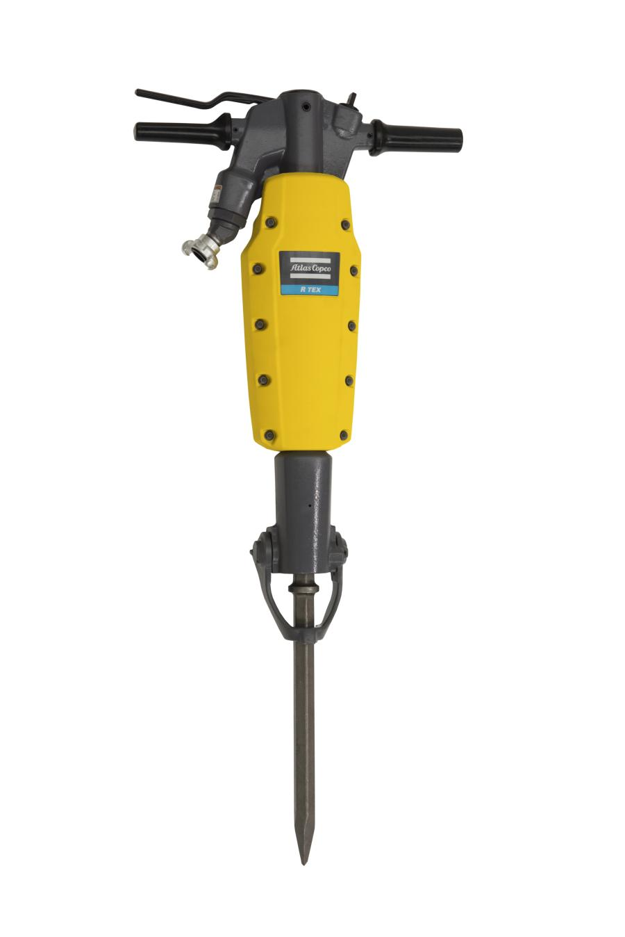 Atlas Copco's RTEX pneumatic breaker offers rental centers and contractors a cost