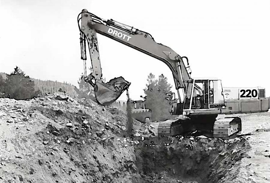 Drott was the sole supplier of loader attachments for International Harvester crawler tractors in the 1950s, until International introduced their own line of integral loaders.
