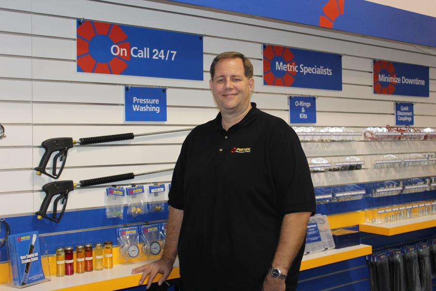 Franchise owner Daniel Currid said this should prove an excellent spot for a PIRTEK service and supply center.