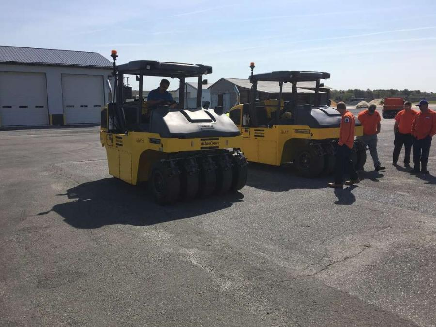 The CP1200 Dynapac rollers will be used for the chip seal paving projects in Sussex County, Del.