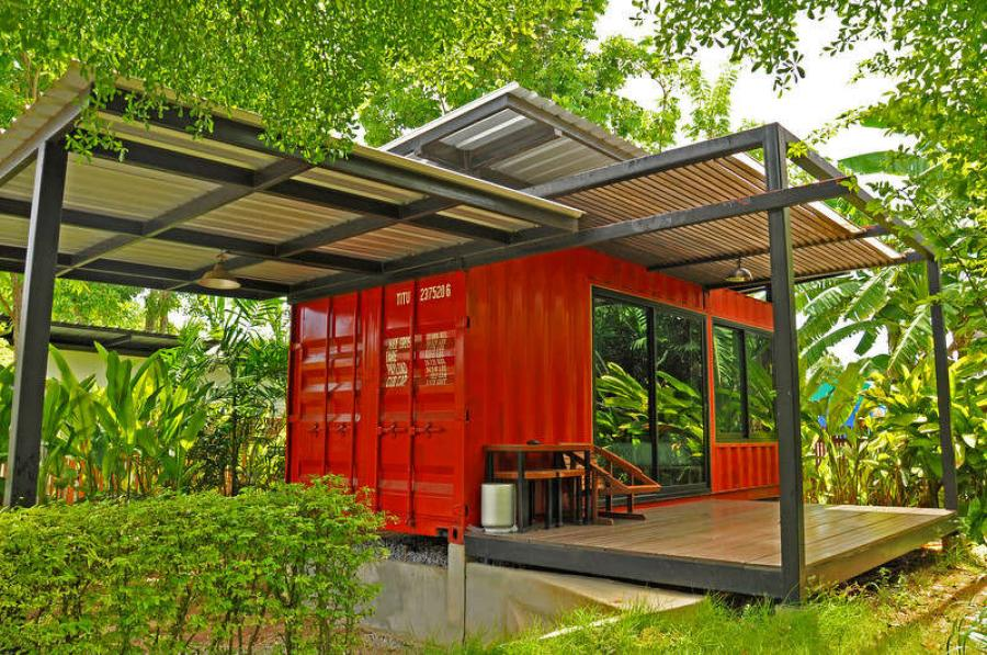 The Blackwells say that there are many misconceptions about shipping container homes.