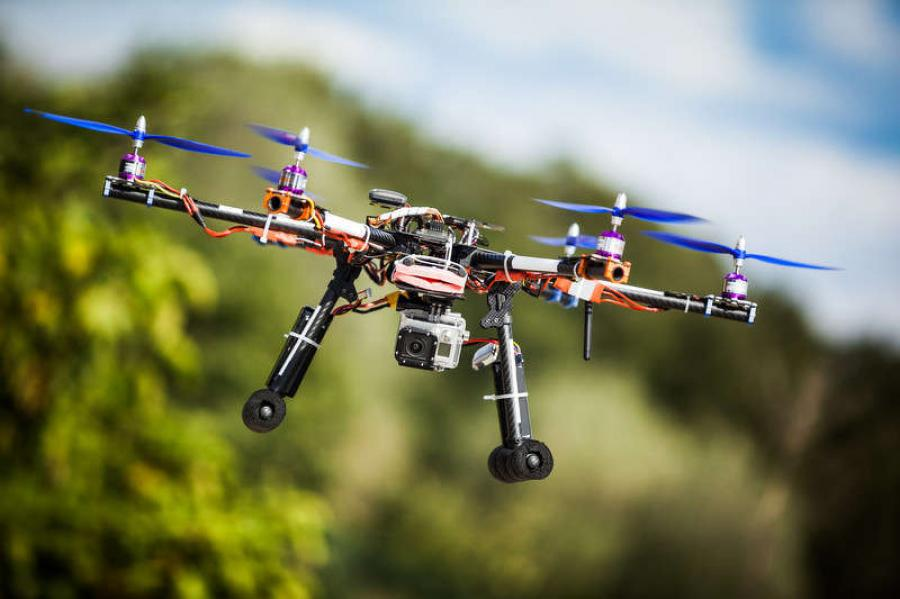 The day is near of UAVs being commonplace pieces of construction equipment.
