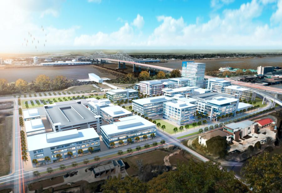 Antunovich Associates Inc. rendering  A rendering of The Water Campus.