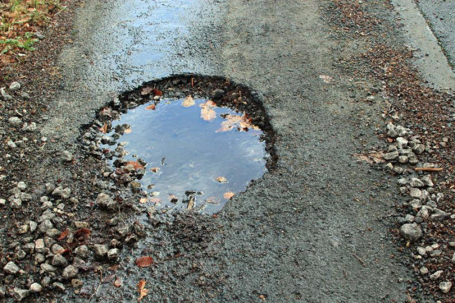 More than half the claims against DOT since 2010 have been for damage caused by potholes.