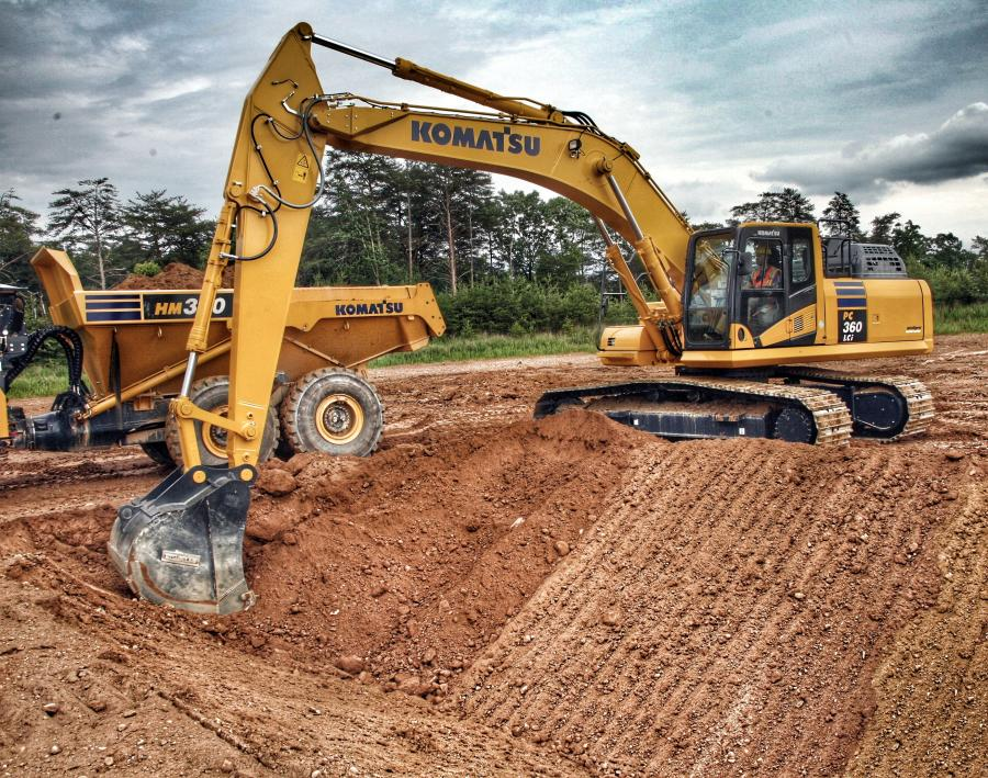 Komatsu America Corp.has introduced the new PC360LCi-11 hydraulic excavator, the first 3D semi-automatic excavator available in the popular 36-ton weight class.