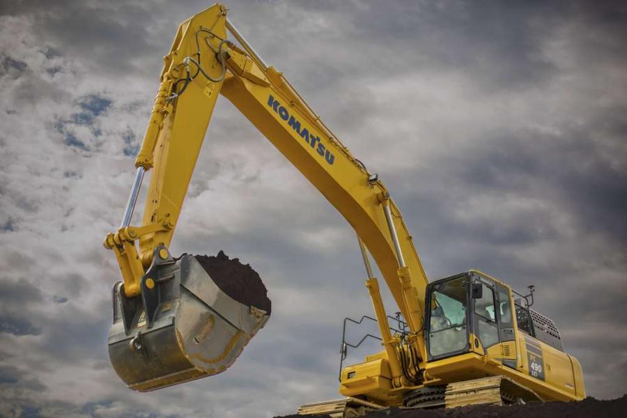 Komatsu America Corp. has introduced the new PC490LCi-11 hydraulic excavator, the largest 3D semi-automatic construction-sized excavator available today.