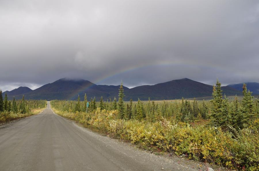 The Denali Highway is now open from Cantwell, on the Parks Highway, to Paxson, on the Richardson Highway.