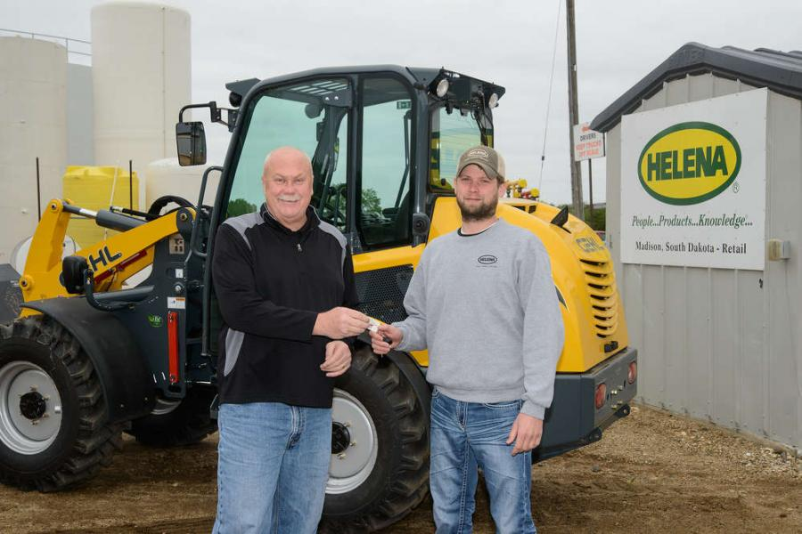 Jeff Bloom (left), Manager of Lake County International