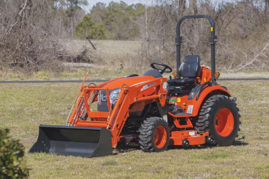 Compatible with the CK2510 and CK2510H of the brand's CK10 Series, the new mower attachment is KIOTI's first mid-mount mower option for the CK10 line.