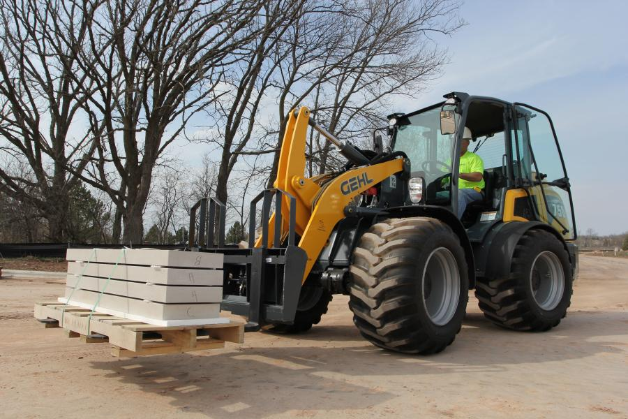 The 650 and 750 are the largest wheel loaders in the Gehl product offering and include standard convenience features such as a digital instrumentation display, Power-A-Tach attachment mounting system and a multi-function joystick.