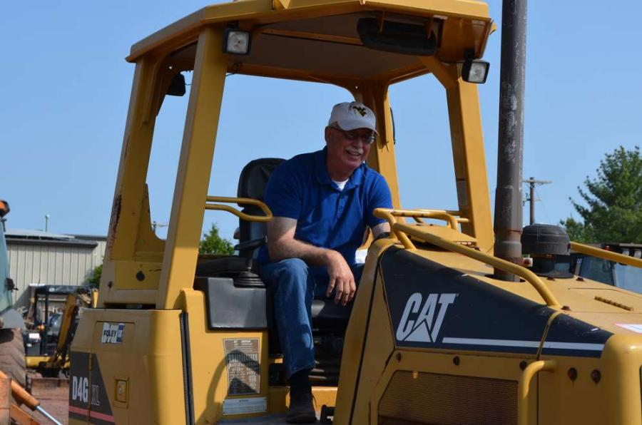 Albert Asbury of Mansfield, Pa., is retired but still likes to operate and buy equipment.
