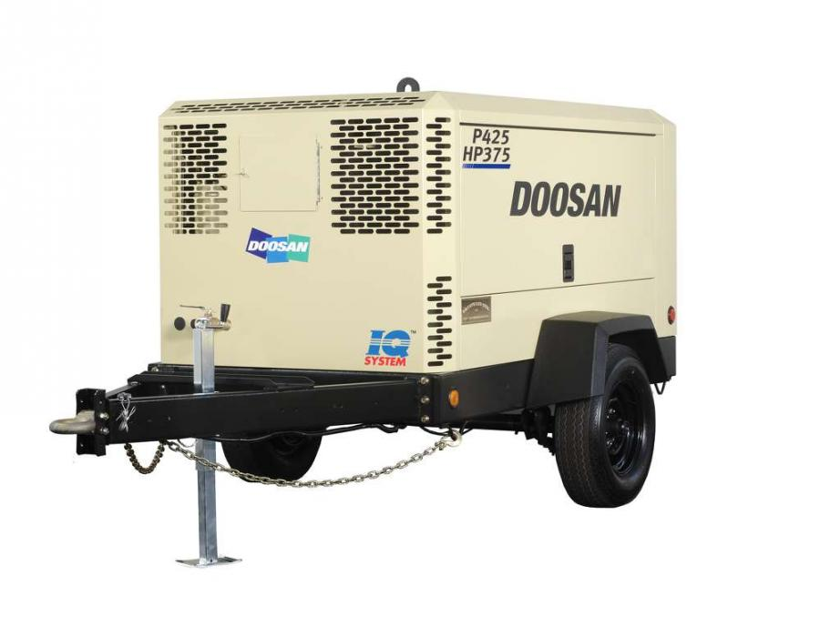 Operating at either 425 cfm at 100 psi or 375 cfm at 150 psi, the P425/HP375 delivers the pressure and flow options typical of two units in a single air compressor.