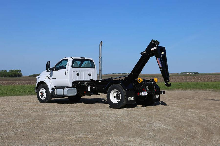 Stellar Industries, Inc. is announcing the release of the redesigned 20,000-pound capacity Hooklift line that has been upgraded and is lighter than the previous version.