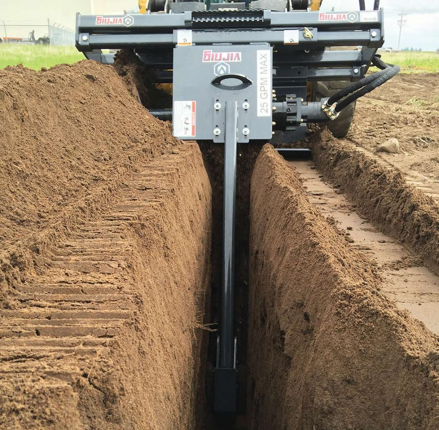 Virnig Manufacturing Launches Trencher Attachment