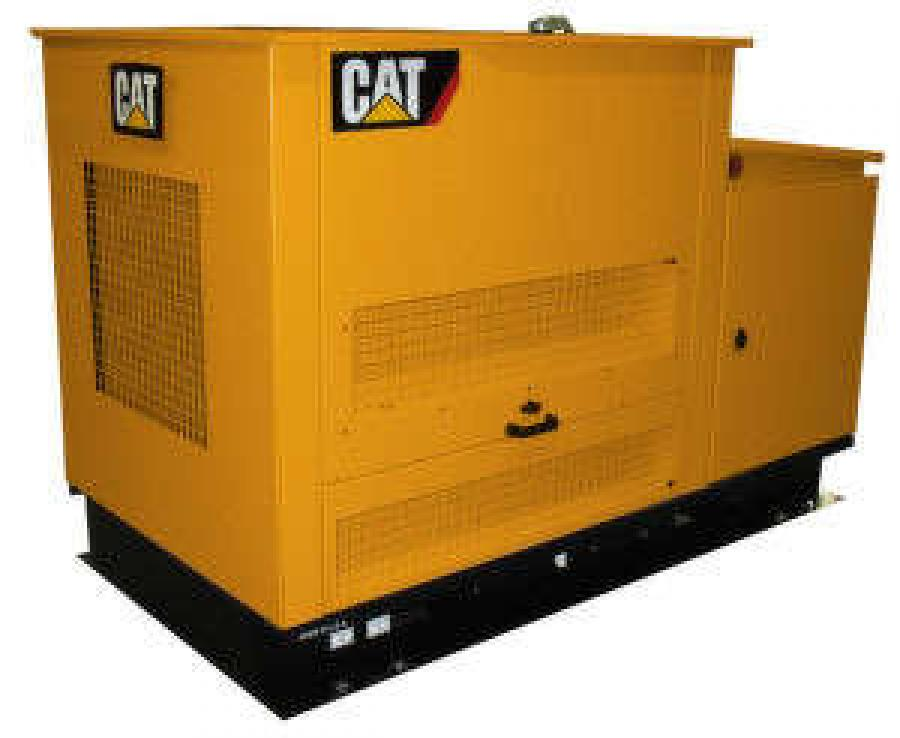 Cat Introduces New DG Series Gas Generator Sets