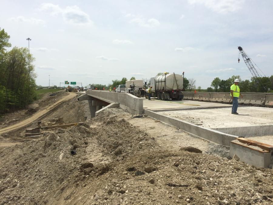 Shelly & Sands Inc. has completed the first year of the four-year contract to rebuild and widen a 4-mi. (6.4 km) stretch of Interstate 80 in Ohio's Trumbull County, along with the widening and rehabilitation of seven bridges and replacement of six bridges.