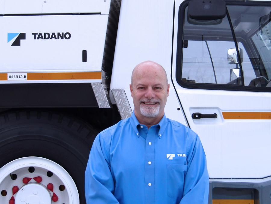 Houston, Texas-based Tadano America has added Ken Butz as its general manager of sales.
