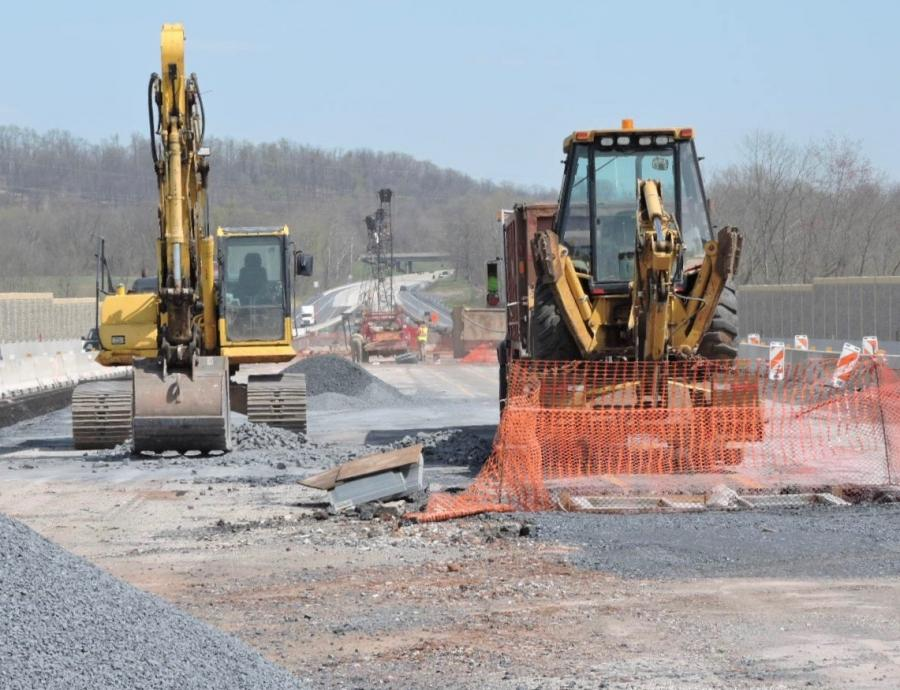 Work is progressing on the Swatara Creek Bridge project in Pennsylvania.