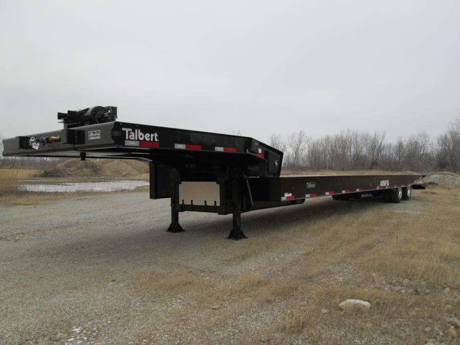 Talbert Manufacturing updated its Traveling Axle (TA) Series by increasing its hauling capacity by 5 tons. Three of the new trailer models – the 4048TA, 4050TA and 4053TA – have a 40-ton hauling capacity, and the new 5548TA and 5553TA trailer models haul as much as 55 tons. The five new trailer models will replace the others within the TA Series.