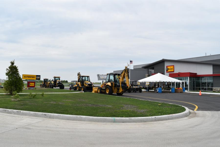 Altorfer hosted a grand opening event at its new location in Springfield, Ill., on May 25. The new facility is conveniently located along Interstate 72 via exit 91.