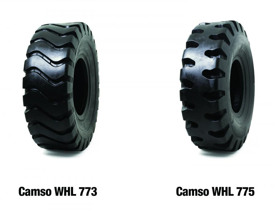 Camso added two new wheel loader tire solutions to its line-up: the Camso WHL 775 and the Camso WHL 773.